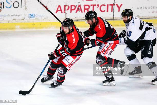Felix Petit of Bordeaux during the Magnus League Playoff match between Bordeaux and Gap on February 28 2018 in Bordeaux France