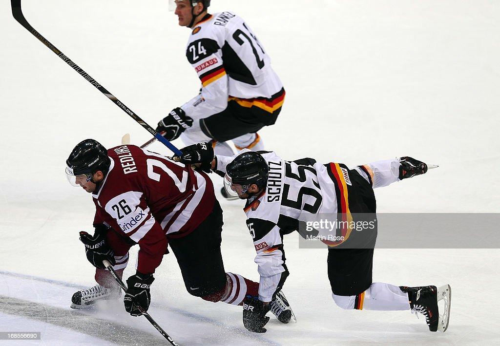 Germany v Latvia - 2013 IIHF Ice Hockey World Championship