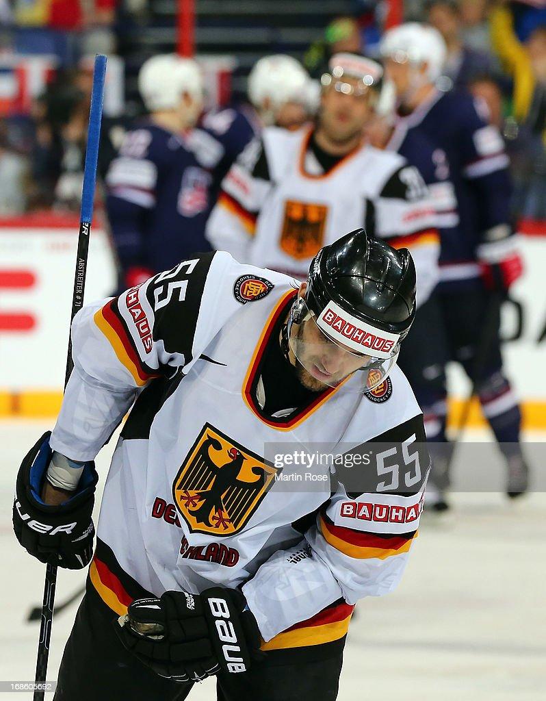 USA v Germany - 2013 IIHF Ice Hockey World Championship