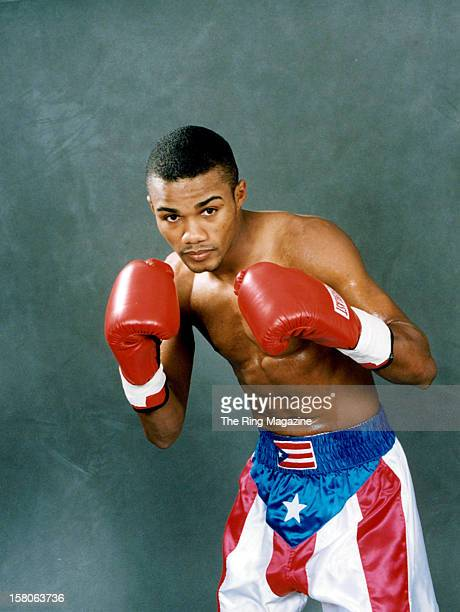 Felix Trinidad poses for a portrait on February 151999 in New York New York