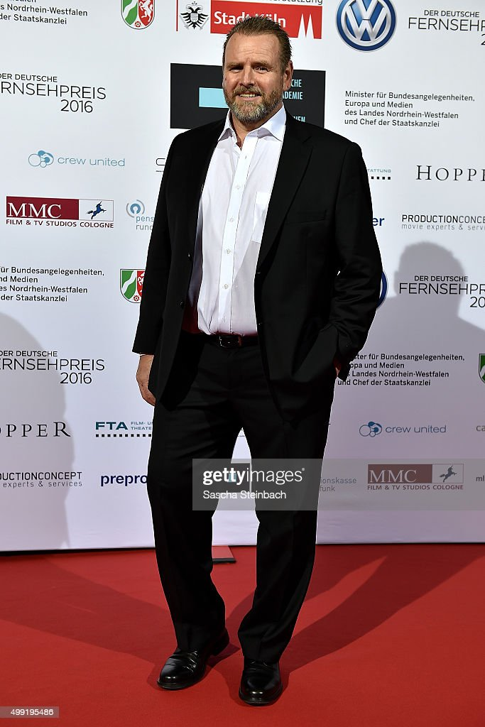 Felix Voertler attends the German television award by the Deutsche Akademie fuer Fernsehen at Museum Ludwig on November 28, 2015 in Cologne, Germany.