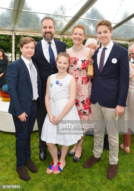 Felix von Perfall Alexander von Perfall Isabelle von Perfall Ashley von Perfall and Nicholas von Perfall attend the Franklin D Roosevelt Four...