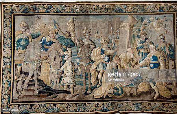 17C Felletin Tapestry in St. Trophime church, Arles, Provence, France