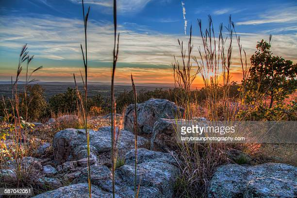 a felling of change - ozark mountains stock pictures, royalty-free photos & images
