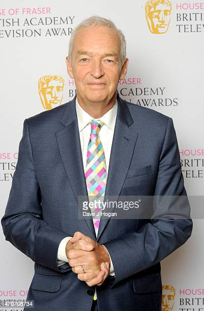 Fellowship Recipient Jon Snow attends the BAFTA Nominees Party at The Corinthia Hotel on April 22 2015 in London England
