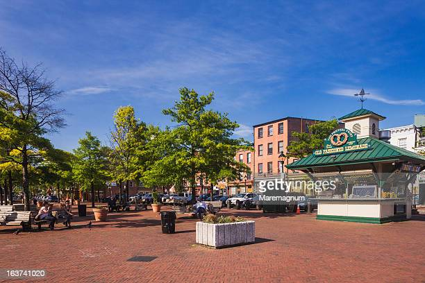 Fells Point, view near South Broadway street