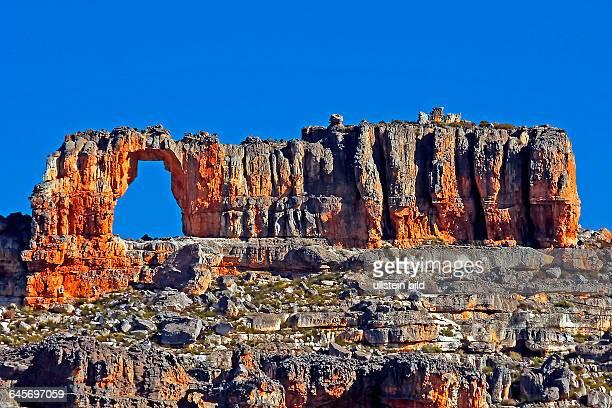 Felsformation Wolfsberg Arch Hike Suedafrika