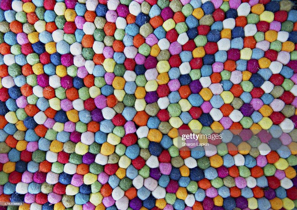 Felt balls : Stock Photo