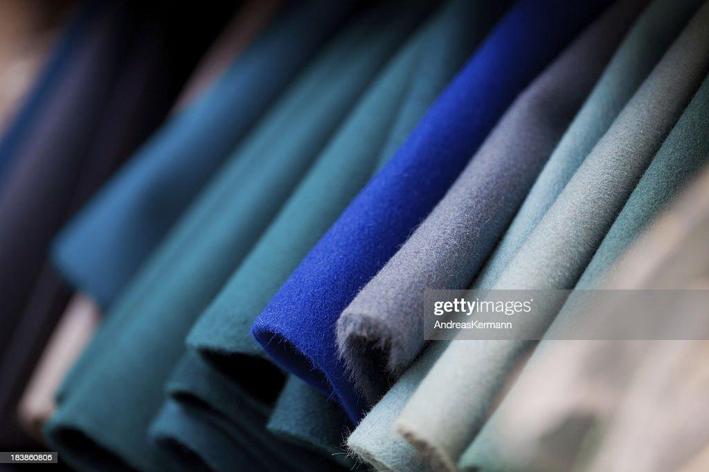 Felt Fabrics : Stock Photo