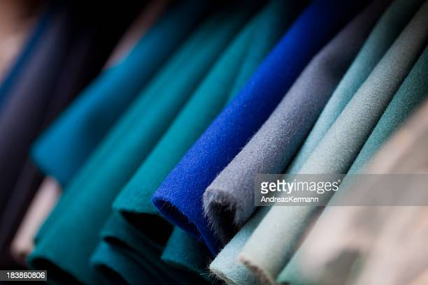felt fabrics - textile industry stock pictures, royalty-free photos & images