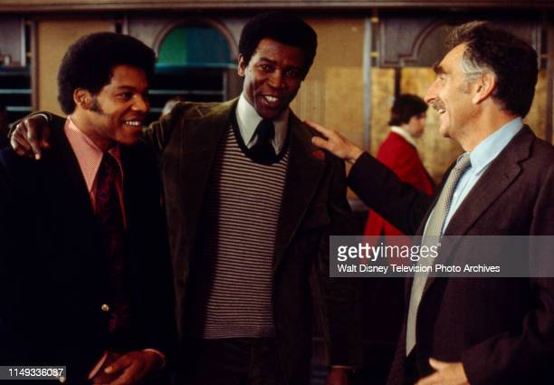 Felton Perry Louis Gossett Jr Jeff Corey appearing on the ABC tv movie 'The Fuzz Brothers'