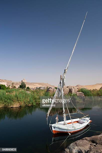 Felucca on Nile River, Aswan, Egypt