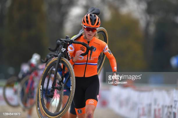 Fem Van Empel of The Netherlands / during the 18th UEC European Cyclocross Championships 2020, Women U23 / @UEC_cycling / #EuroCross20 / CX / on...