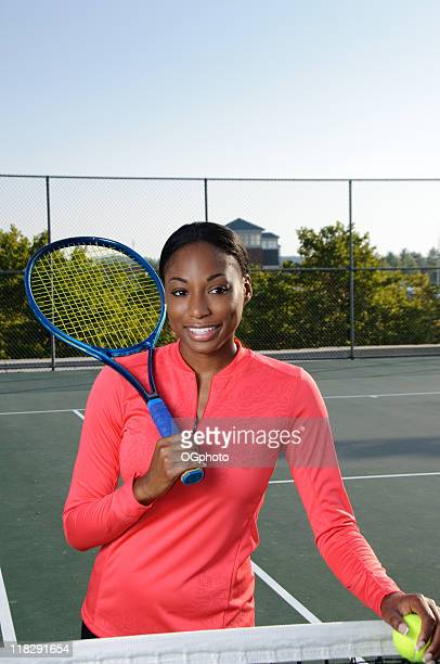 female african american tennis player - ogphoto stock pictures, royalty-free photos & images