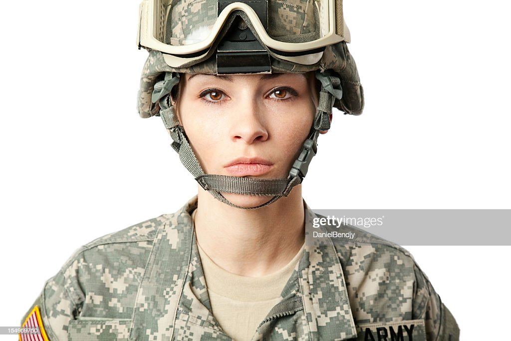Female American Soldier Stock Photo | Getty Images