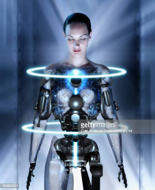 female android - android stock pictures, royalty-free photos & images