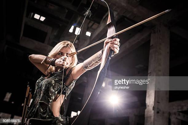 Female archer.