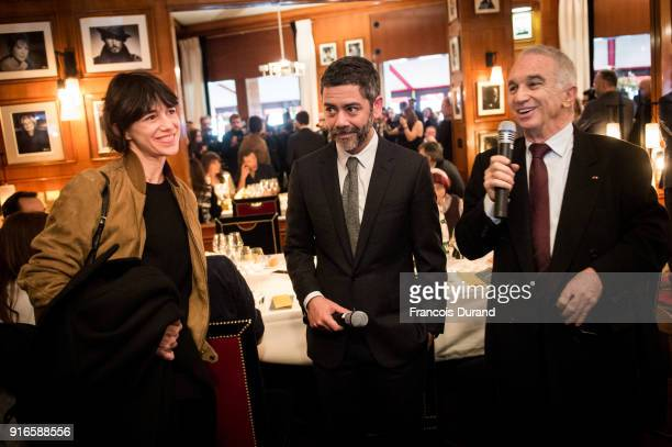 Female Artist of the Year 2018 Charlotte Gainsbourg Actor and Master of Ceremonies for the 43rd Cesar Ceremony Manu Payet President of the Academy of...