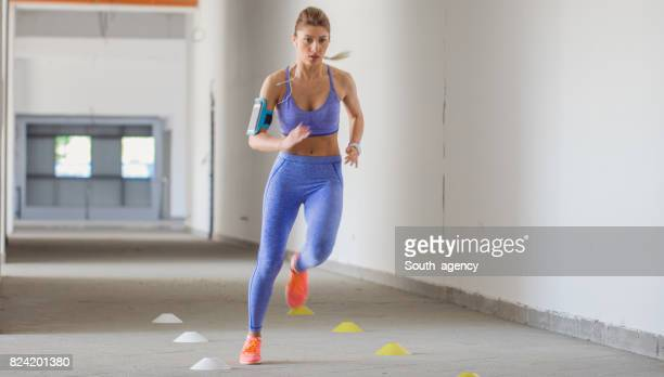 Sportlerin, Joggen
