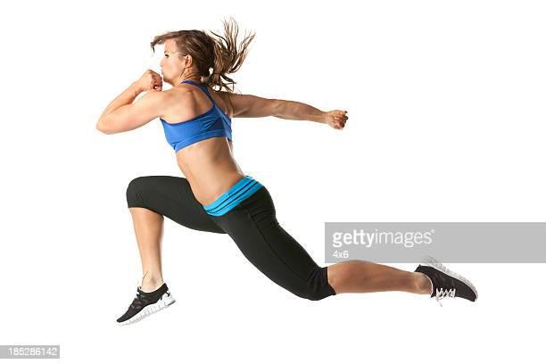 running femme Athlète