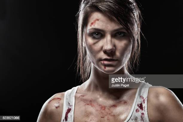 Female Bare Knuckle Fighter