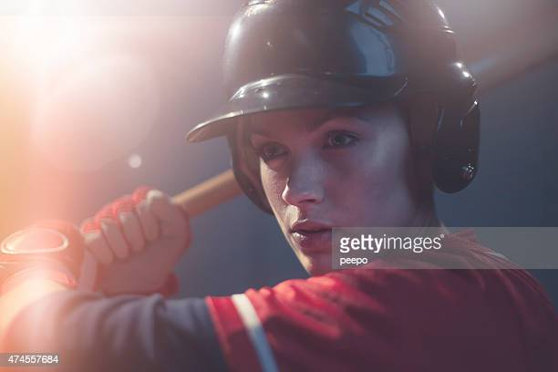Female Baseball Superstar