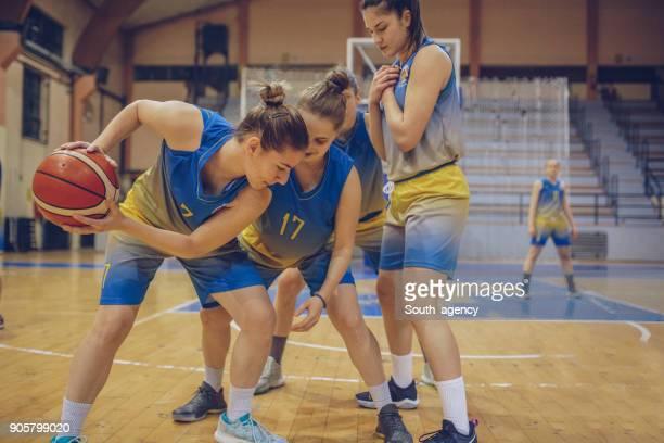 Female Basketball Game