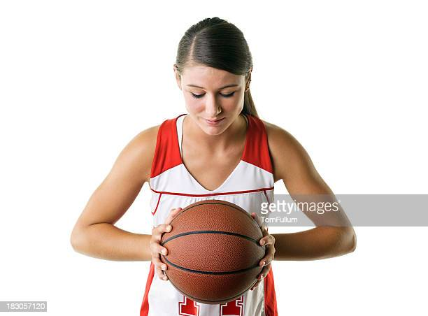 Femme Joueur de Basketball