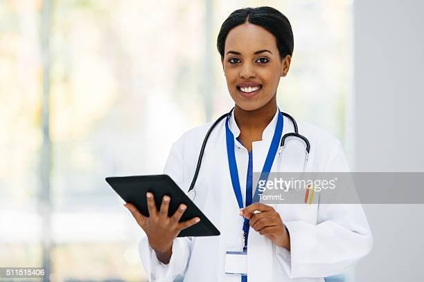 Female black Doctor Portrait
