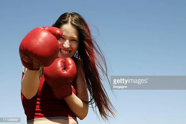 Femme boxer II