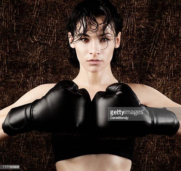 fêmea boxer - mulher guerreira imagens e fotografias de stock