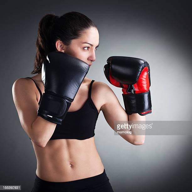 Femme boxer