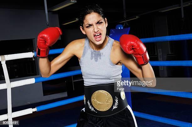 Female Boxing Champion