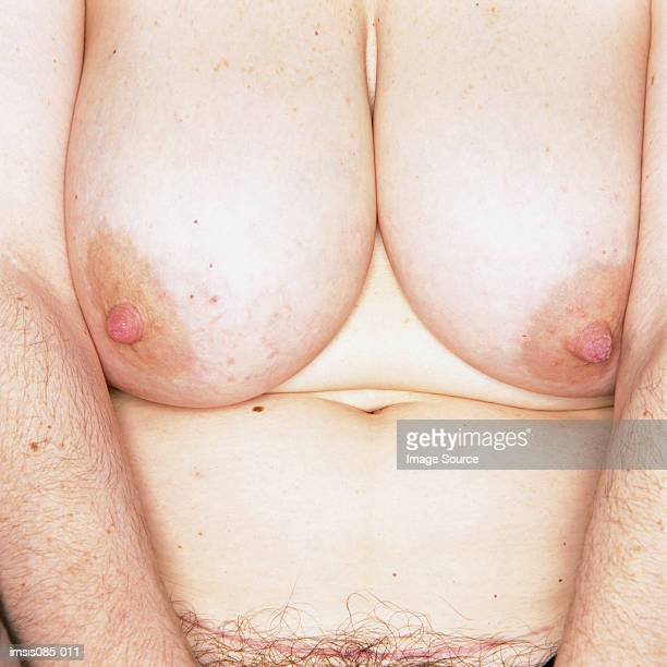 female breasts - femme poil photos et images de collection