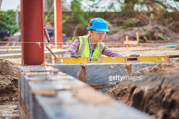 female building contractor