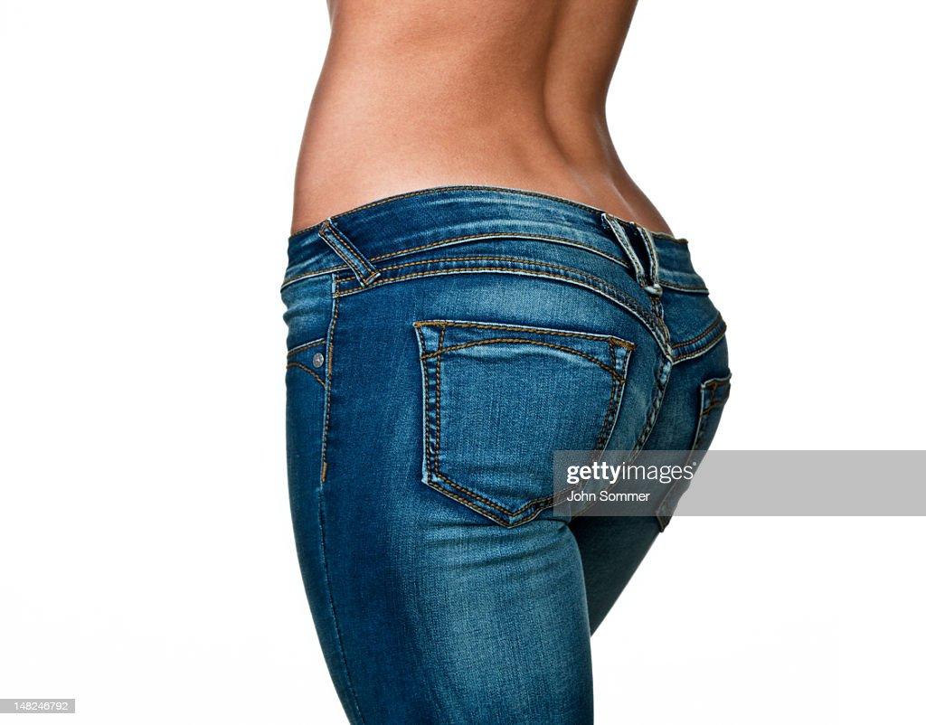 Female buttocks : Stock Photo