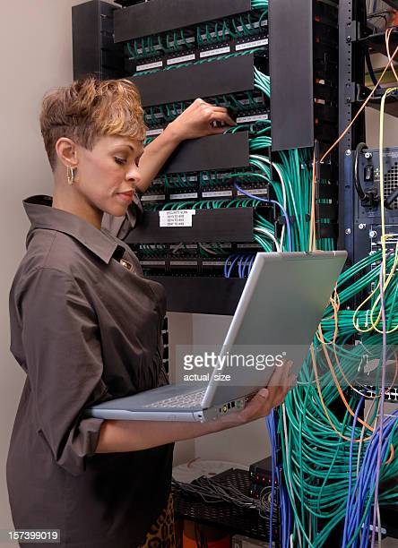 Female Certified IT Professional