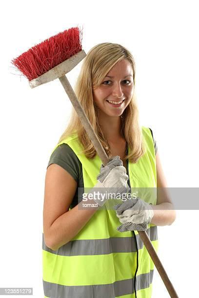 Weibliche Reinigung