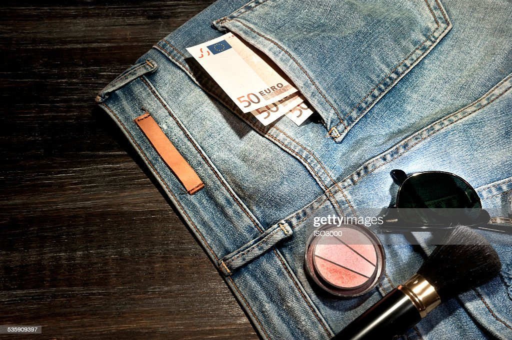 Female clothes and accessories : Stock Photo