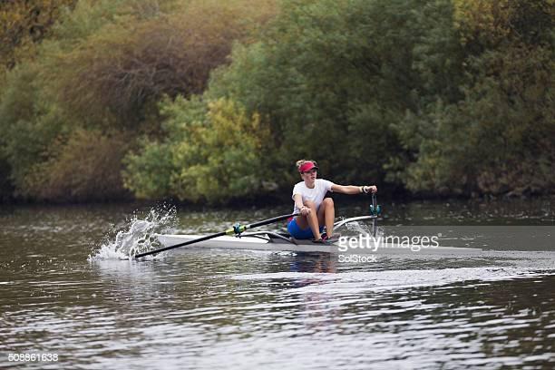 Female Club Rower