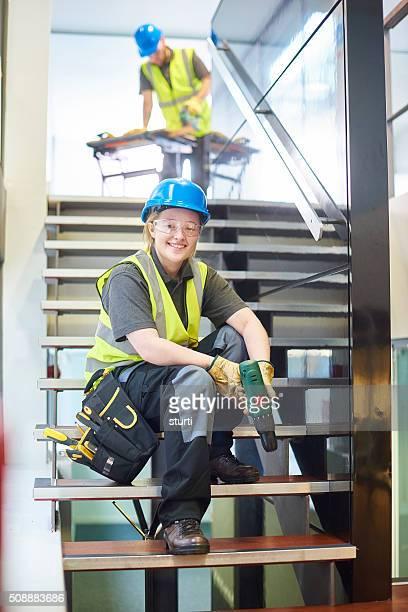 female contractor portrait