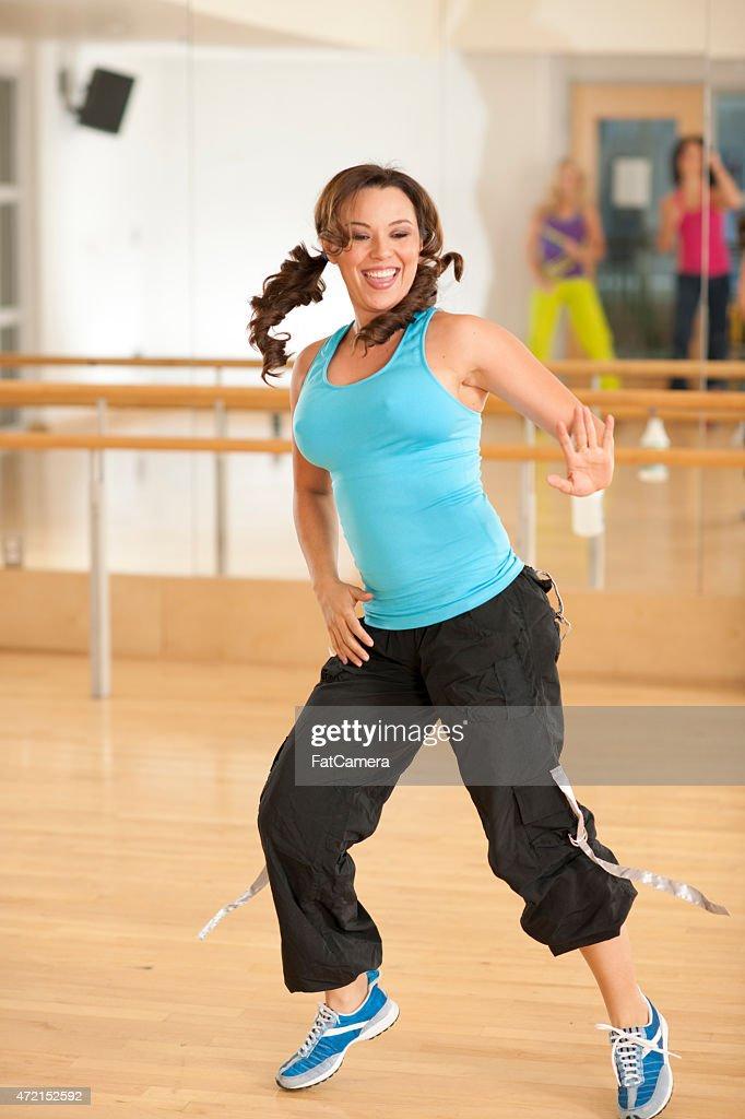 Female Dance Move : Stock Photo
