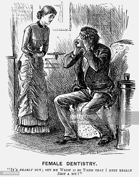 'Female Dentistry' 1879 One of Punch's favourite targets were the young women who were determined to enter hitherto maleonly professions The...