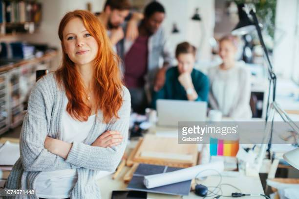 female designer - scandinavian descent stock pictures, royalty-free photos & images