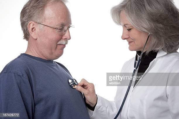 Doctora y paciente (XXL