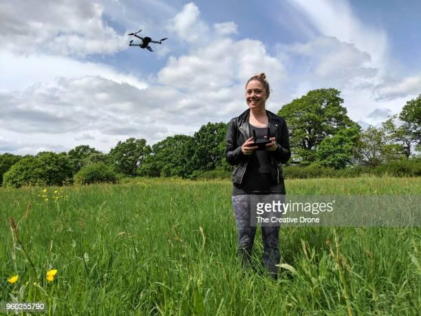 Female Drone Pilot