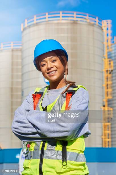 Weibliche engineer