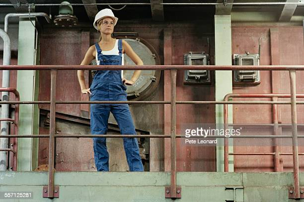 Female Factory Worker
