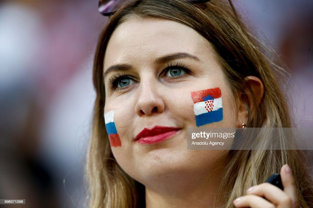 Croatia v England : Semi Final - 2018 FIFA World Cup : News Photo