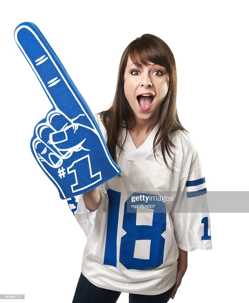 Female Fan : Stock Photo